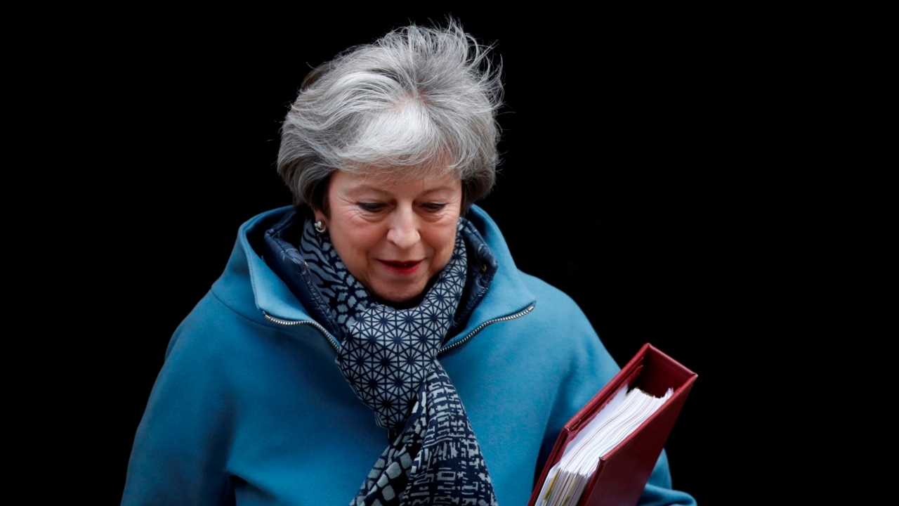 May braces for crucial day of Brexit voting