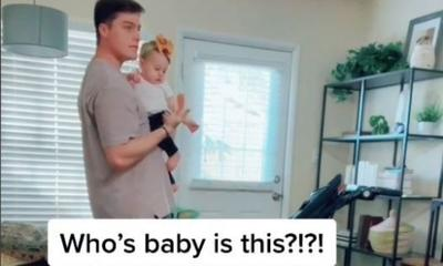 Internet divided over mum's viral baby switch prank