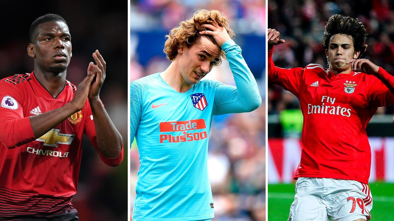 Pogba, Griezmann, Felix: Some of the stars who could be on the move.