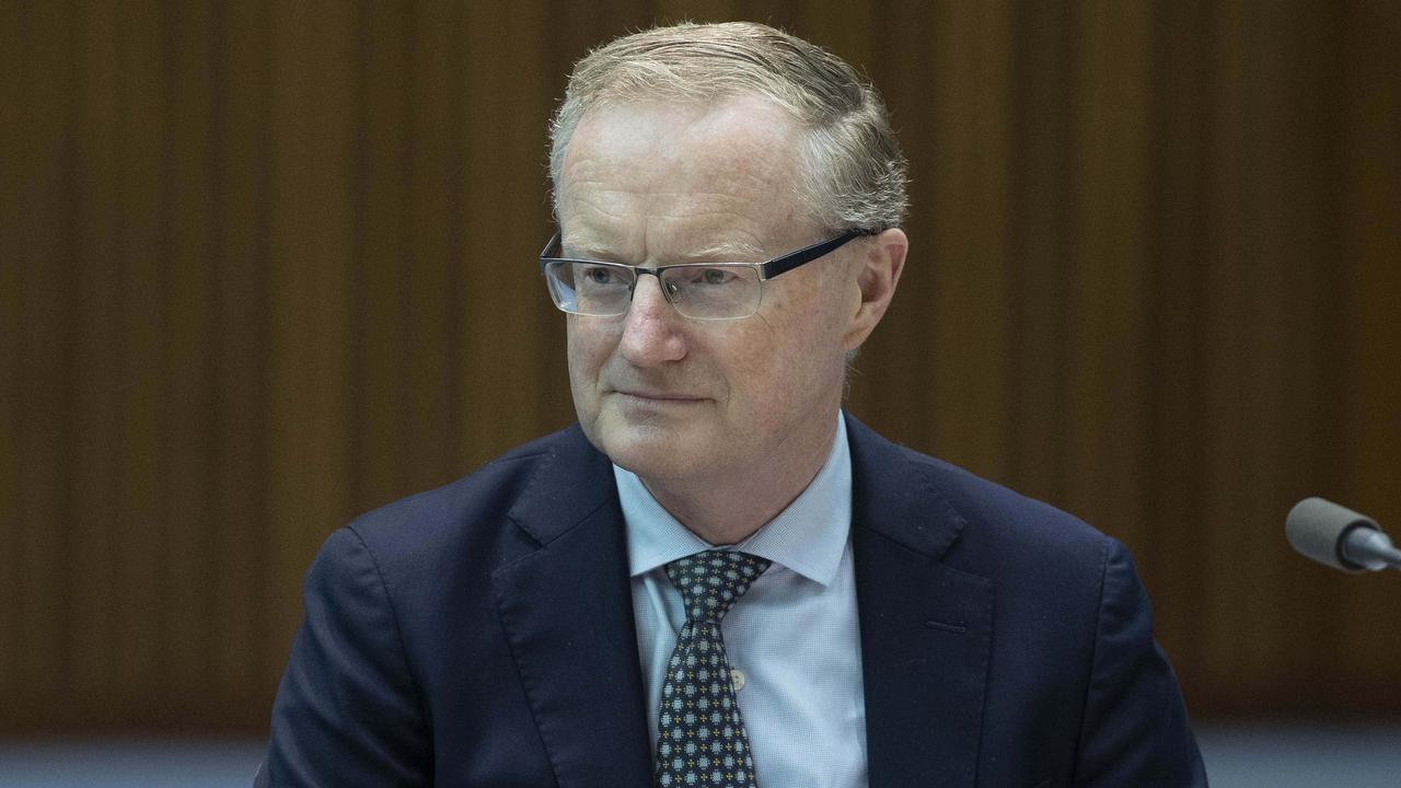 Even the Governor of the Reserve Bank of Australia (RBA), Dr Philip Lowe is confused about what's happening in the Aussie housing market. Picture: NCA NewsWire / Gary Ramage
