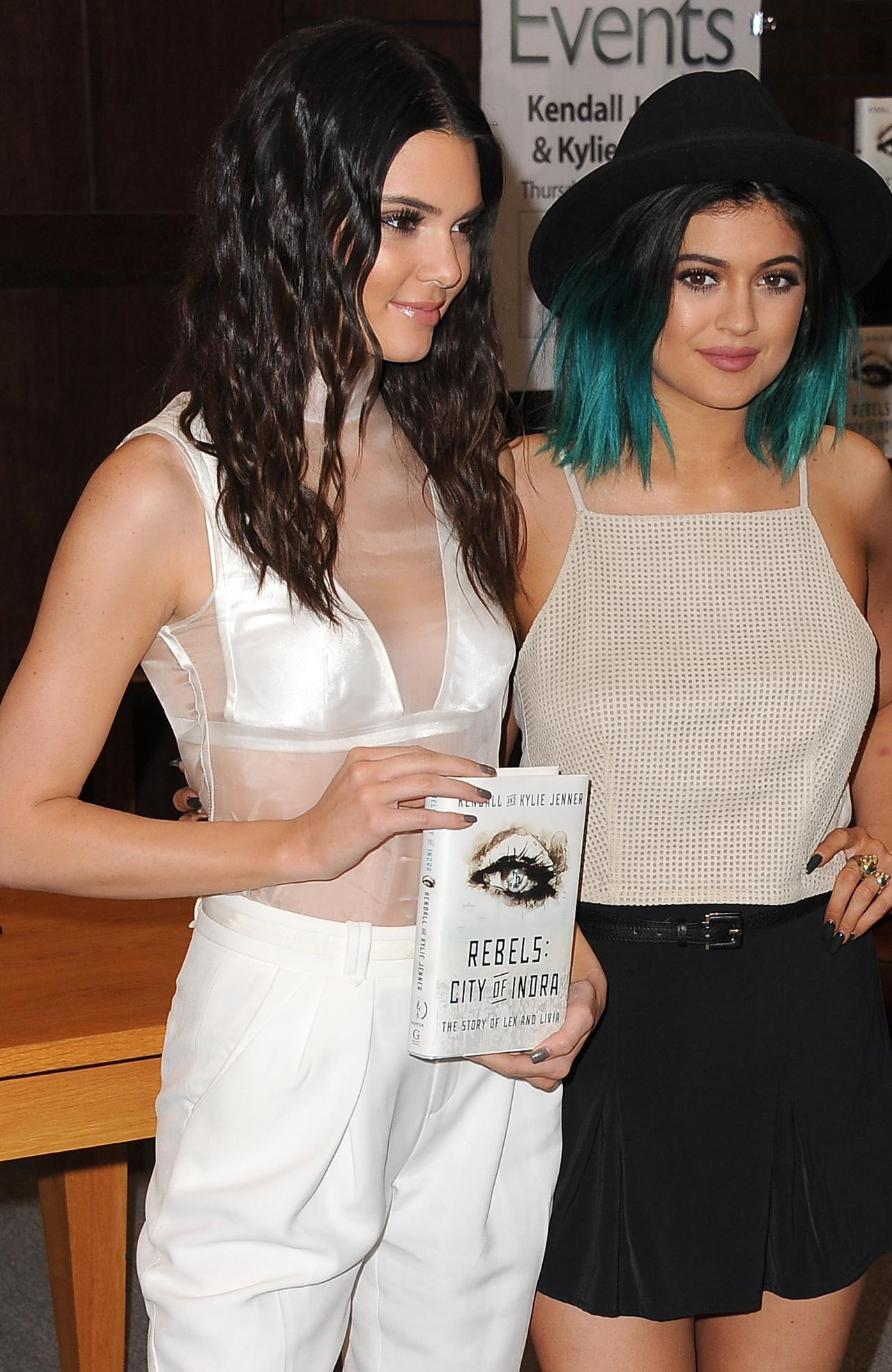 "Kendall Jenner And Kylie Jenner Book Signing For ""Rebels"""