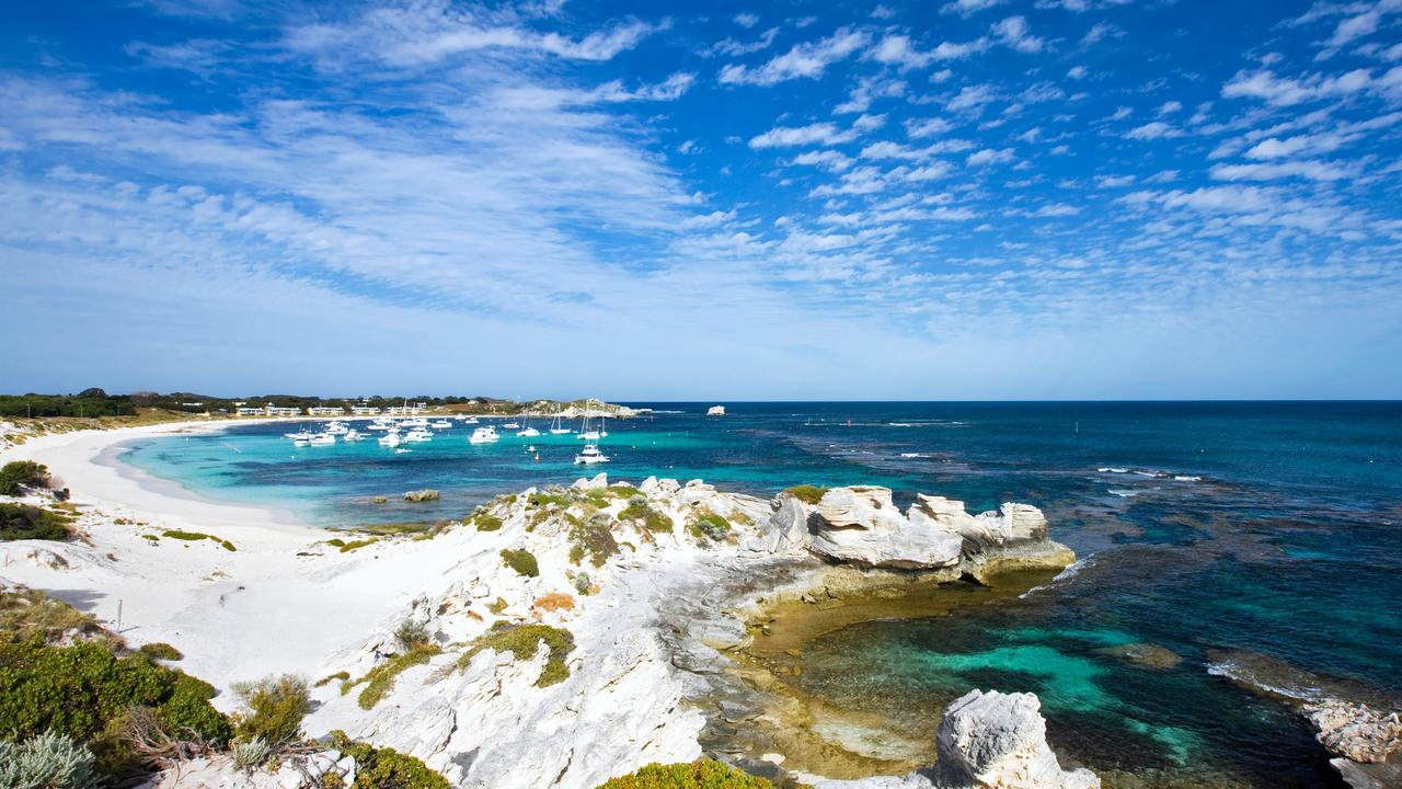 Picture perfect: the shore of Rottnest Island in Australia.