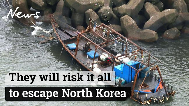 They will risk it all to escape North Korea