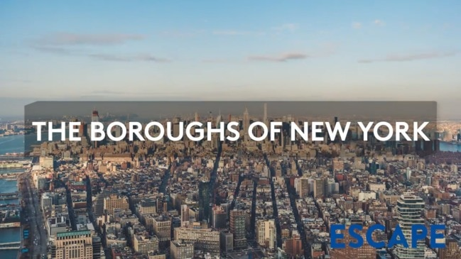 THE BOROUGHS OF NEW YORK
