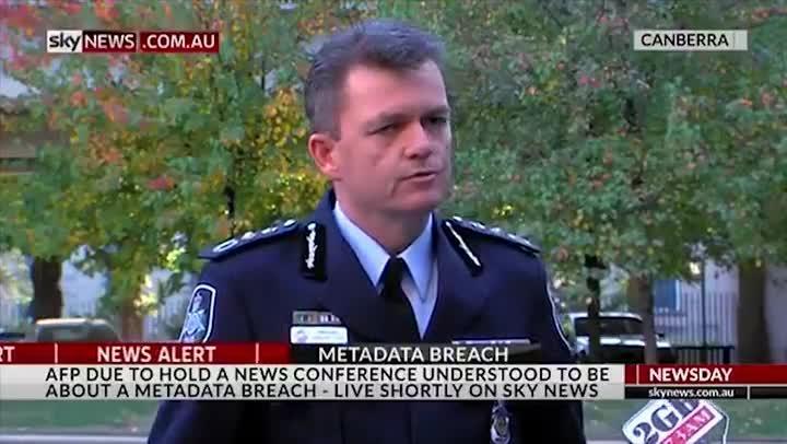 AFP investigating metadata breach