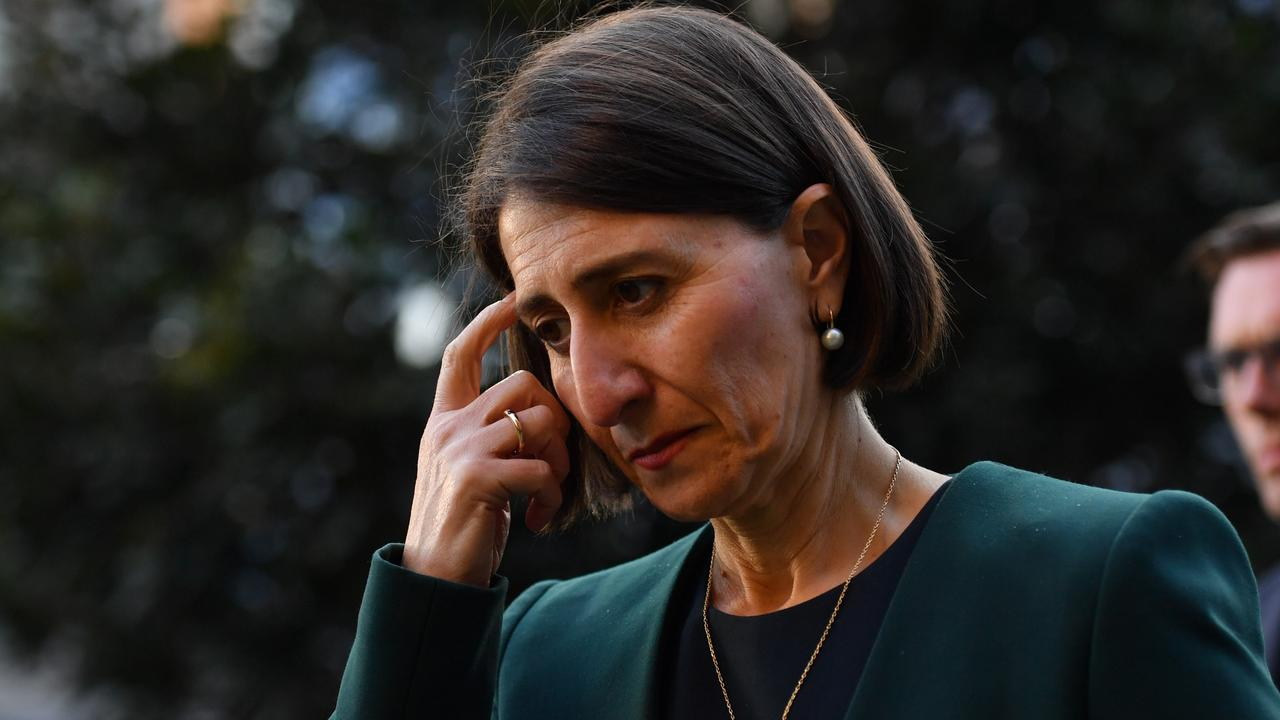 Gladys Berejiklian has hardly been forthcoming – with either the public of ICAC – about her relationship with Daryl Maguire and how it impacted her decision making. Picture: Getty Images