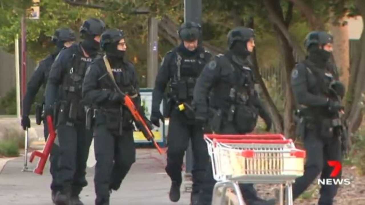 Jamie Scott Dempsey has faced court after a police siege involving STAR Group officers at Parkside. Picture: 7 News