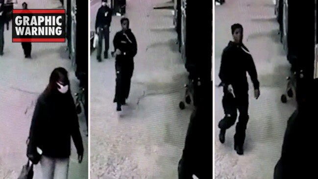 Horror moment woman 'executes' her ex