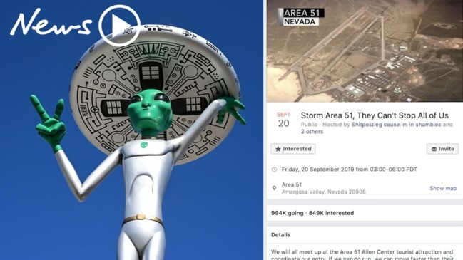 'Storm Area 51' Over a million people plan to raid the top secret US site
