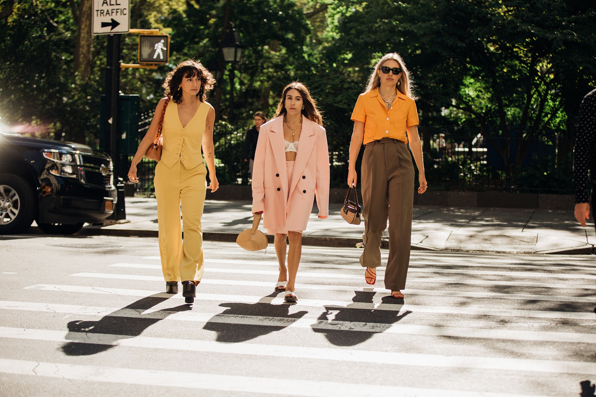How models and the street style set handle heatwave dressing