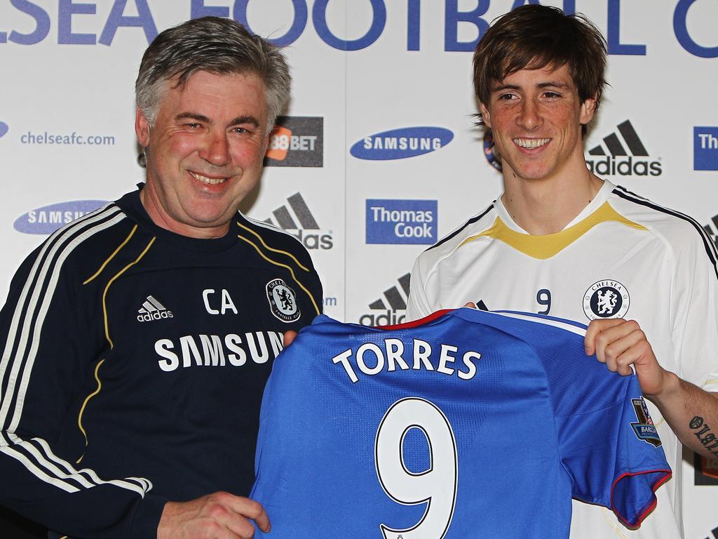 Fernando Torres signed for Chelsea in 2011.