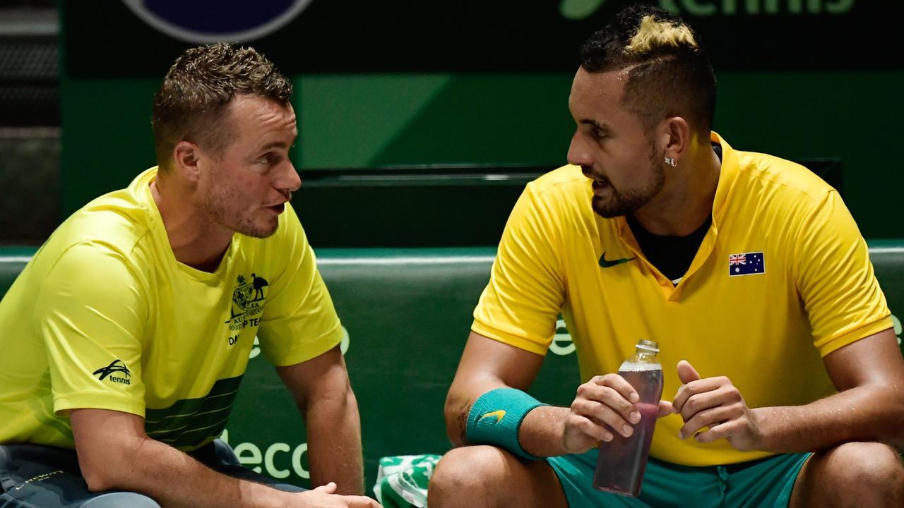 Lleyton Hewitt has his concerns but backs Nick Kyrgios to impress at ATP Cup