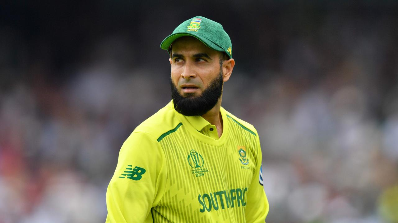 Imran Tahir farewells international cricket on Saturday.