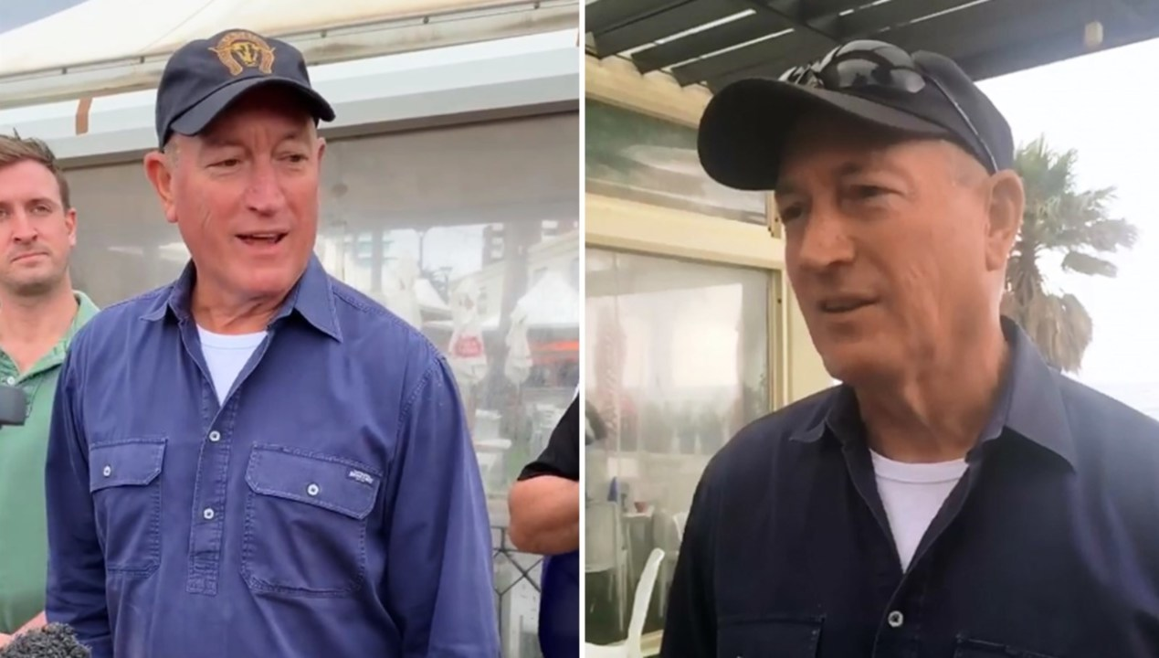 MPs condemn Fraser Anning for attending right-wing rally