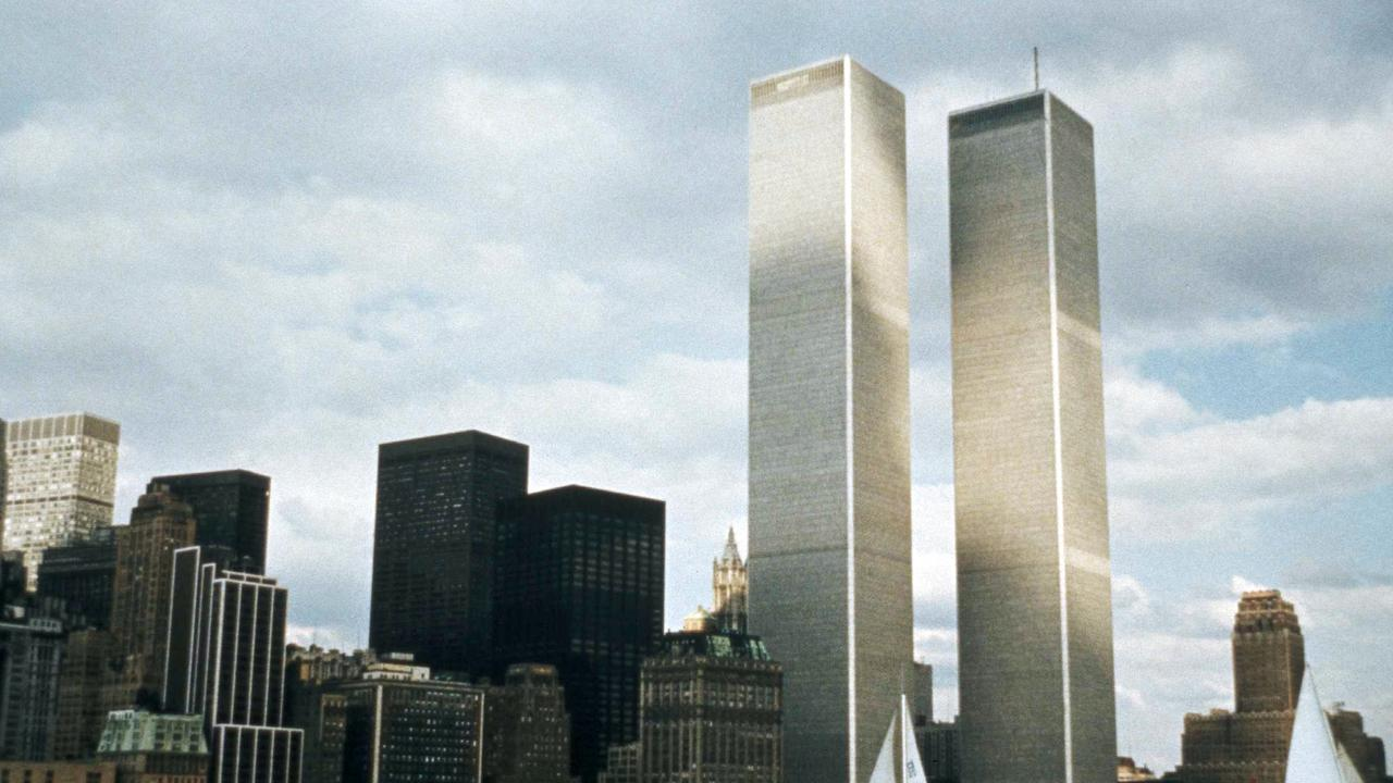 The World Trade Center in the 1970s before the world's worst terrorist attack. Picture AP