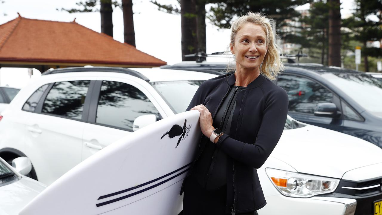 Jenna McDonald welcomes a new parking app to be trialled in Manly which directs drivers to available spaces. Picture: Sam Ruttyn