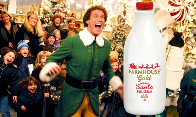 You can now buy special milk just for Santa