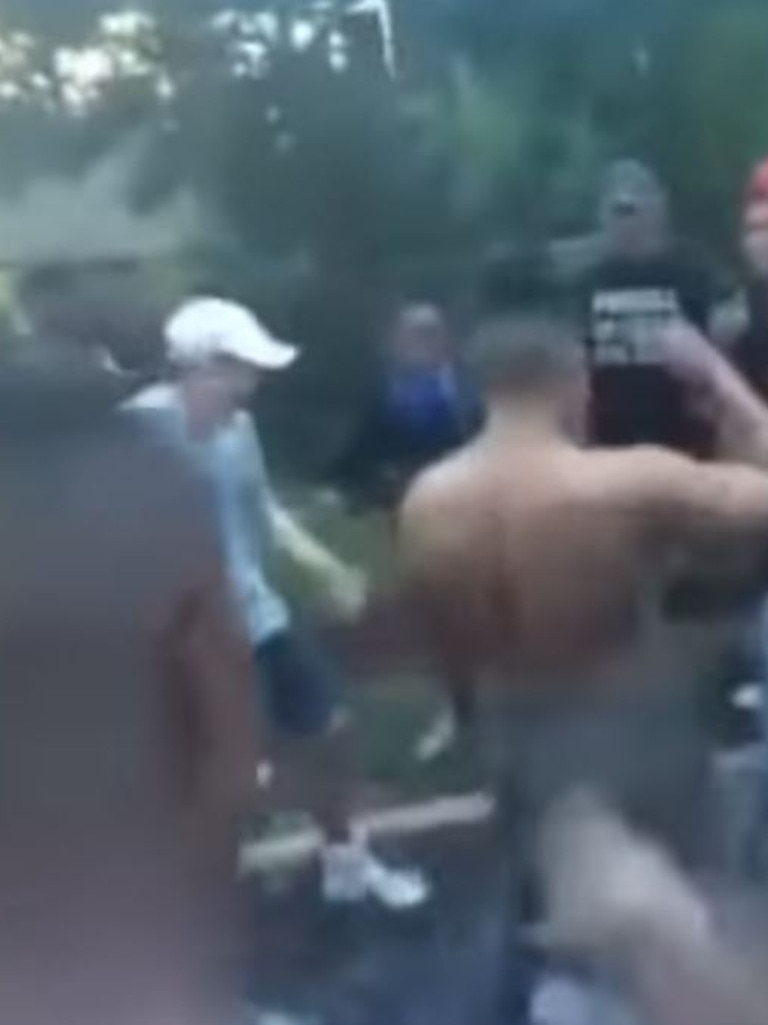Rival gangs meet up for fights over turf and post them to YouTube.