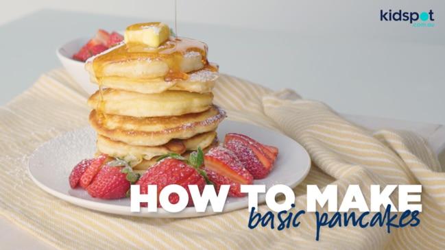 Basic pancakes recipe - Kidspot