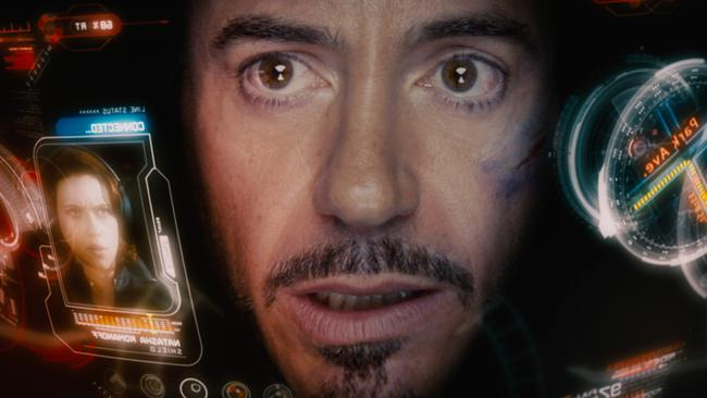 Action man ... Robert Downey Jr is today best-known for his starring role in Iron Man. Picture: Supplied