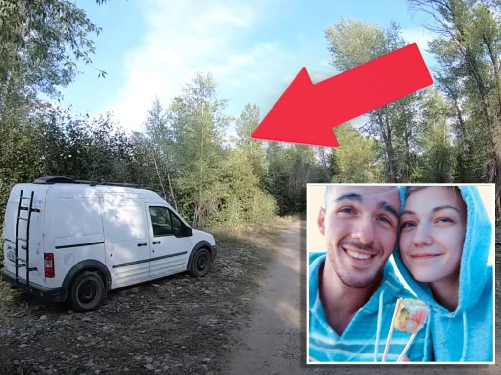 An 'abandoned' van was spotted by YouTubers.