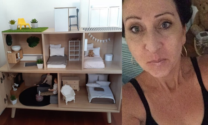 Grandma's adorable Kmart dollhouse hack wows the internet