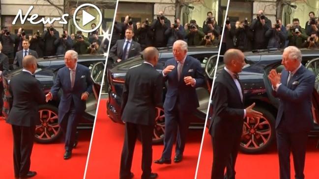 Prince Charles awkwardly denies handshake before testing positive for coronavirus