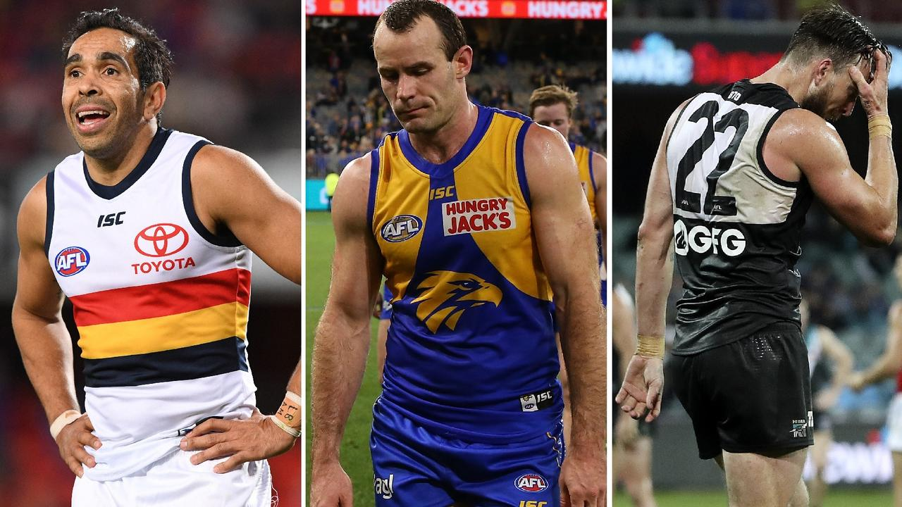 See who will line up for your team in Round 19.