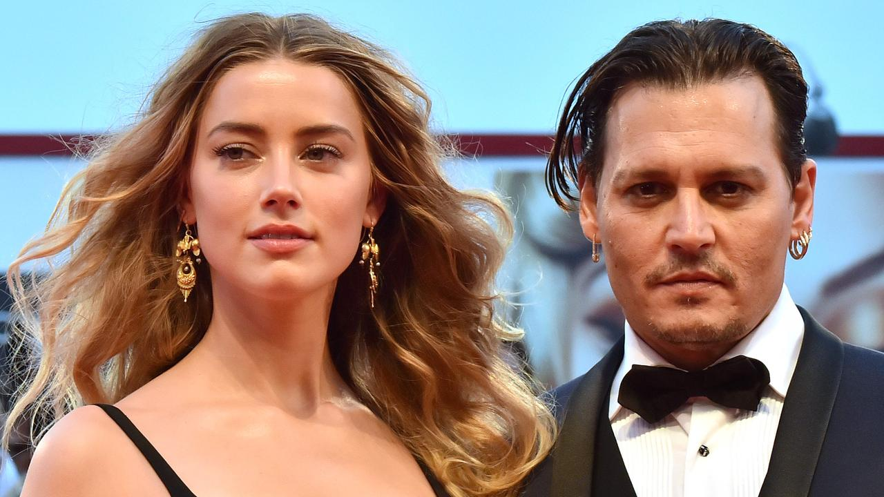 The actors, when they were married, at the 72nd Venice International Film Festival in 2015. Picture: Giuseppe Cacace/AFP