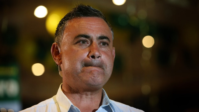 A regional journalist has been caught complaining about Deputy Premier John Barilaro during a Zoom media conference. Picture Kym Smith
