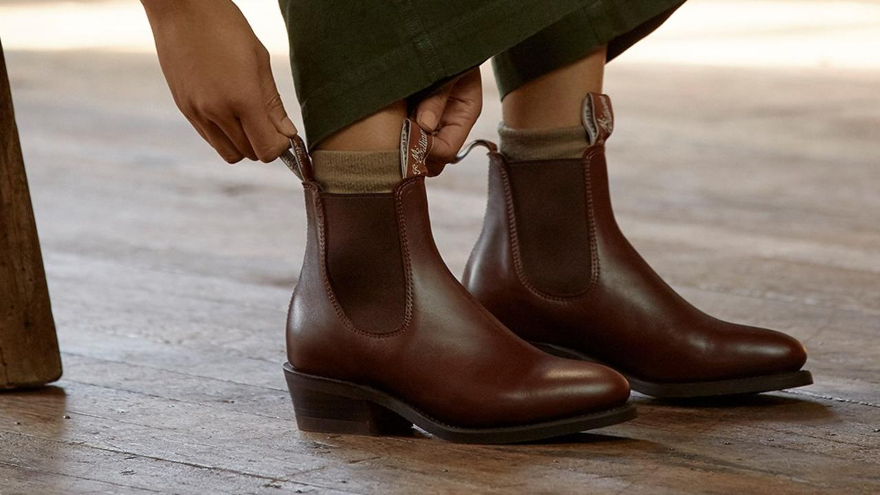 From ankle to knee-high, these boots will help you complete every winter look in style and comfort. Image: R.M. Williams via Facebook.