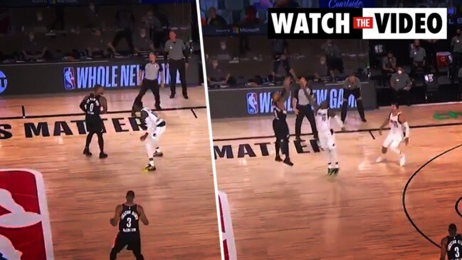 NBA playoff: Lillard's insane three-pointer