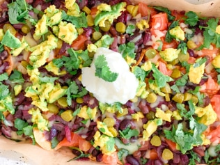 The best dietitian-approved vegetarian nacho recipe