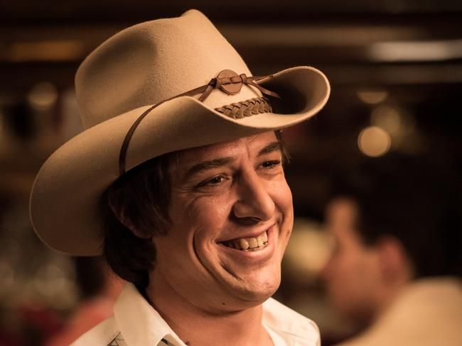 Samule Johnson stars as Molly Meldrum in the hit miniseries. Picture: Seven