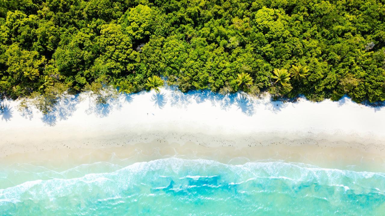 Airlie Beach is Queensland's tropical adventure capital.