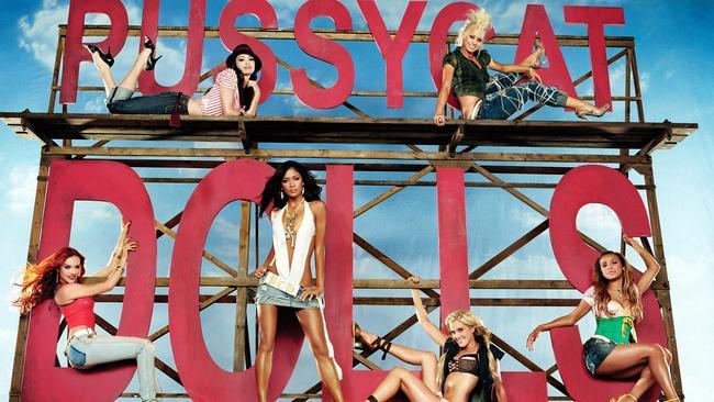 Pussycat Dolls: (top L-R) Jessica Sutta and Kimberly Wyatt (bottom L-R) Carmit Bachar, Nicole Scherzinger, Ashley Roberts and Melody Thornton.