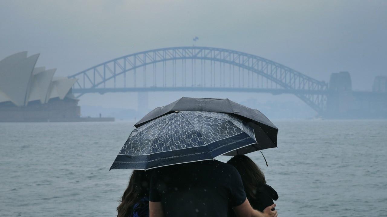 A major downpour has swamped Australia's east coast