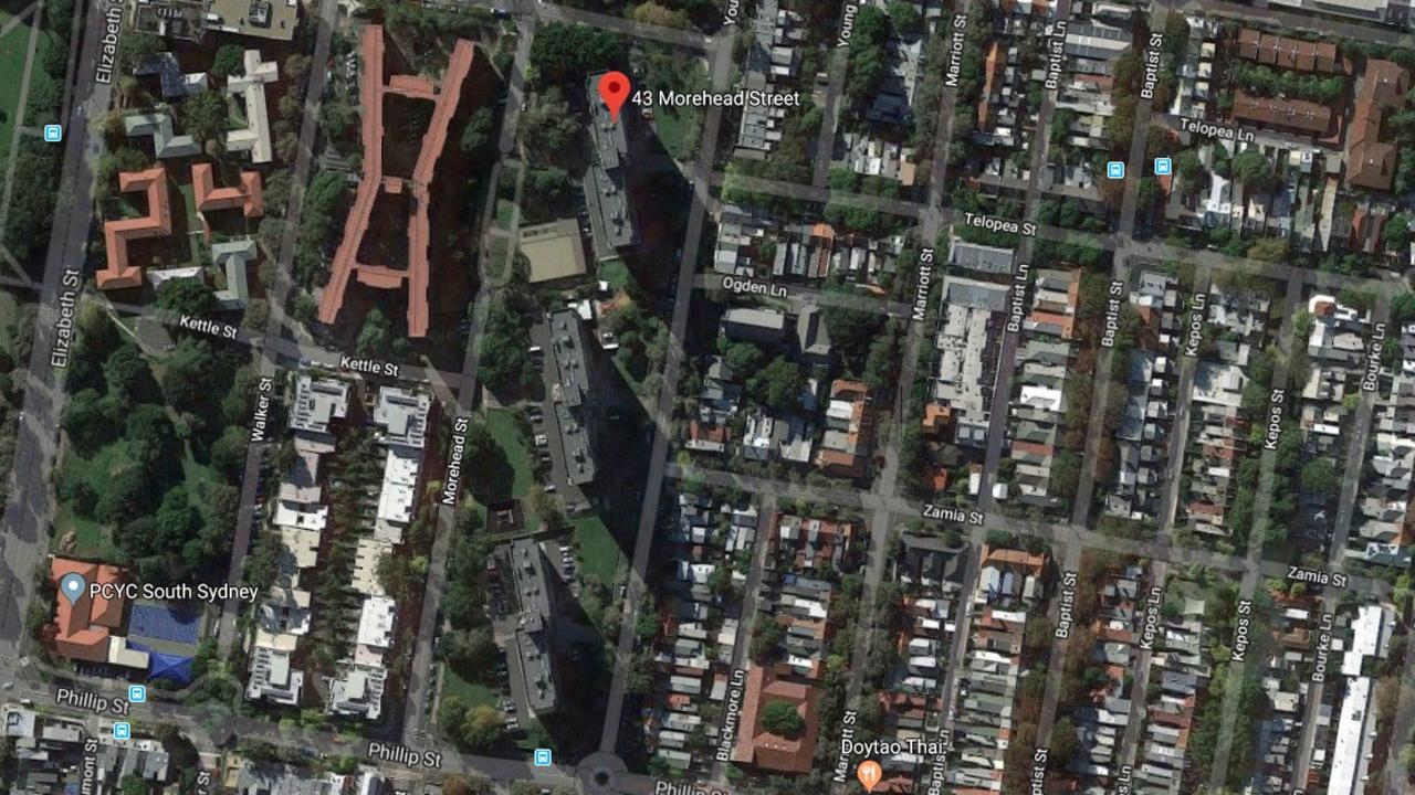 The Three Sisters are identical public housing blocks in Sydney's inner city.