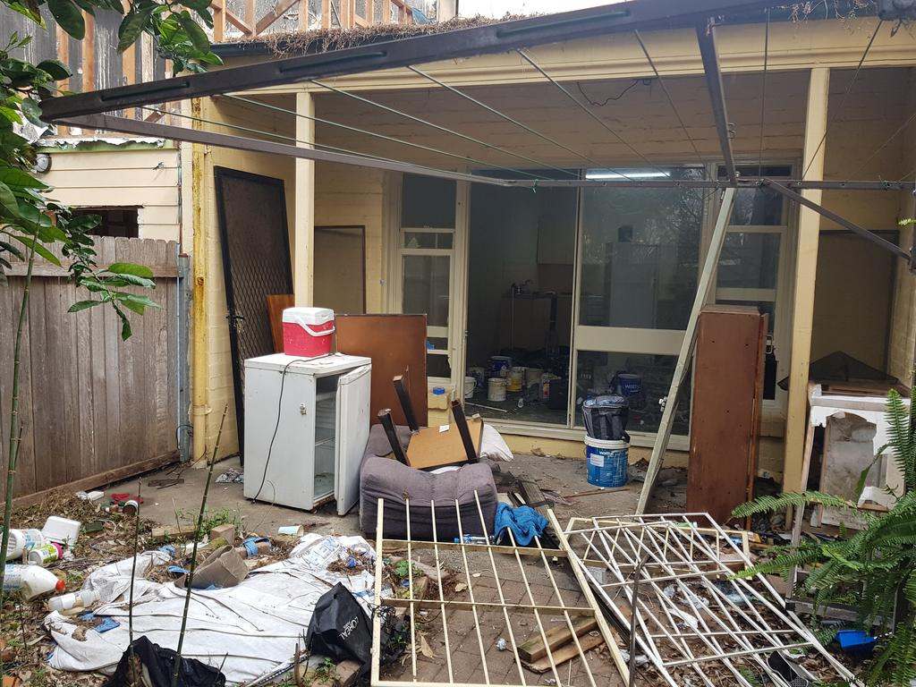 'It looked like something out of the Stone Age': Taxpayers forking out millions in repairs for public housing destroyed by tenants.