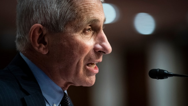 15 percent of Covid experts have received death threats, including Dr. Anthony Fauci. Image: Getty