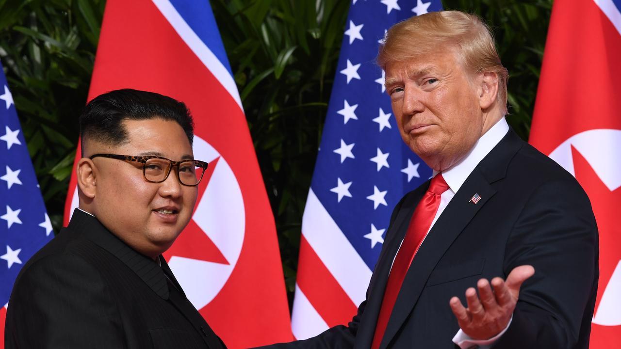 The Trump-Kim 'bromance' captivated the world. Picture: Saul Loeb/AFP