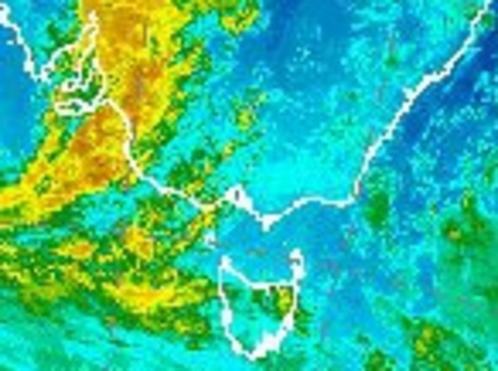 Australian radar images at 7am on Tuesday September 28, 2021. Picture: Bureau of Meteorology