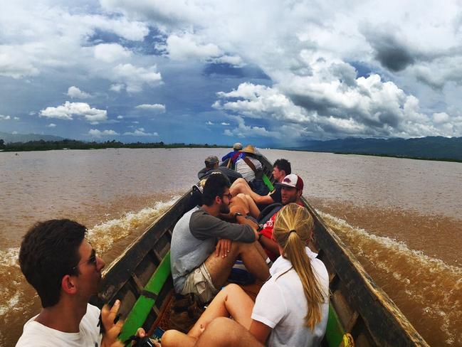 A boat ride on Inle Lake. Pictyure: Gavin Fernando