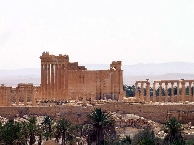 Crossroads ... ISIS has proclaimed online its capture of the entire city of Palmyra, strategically located at the intersection of highways leading to Damascus, Homs and Iraq. Picture: SANA via AP