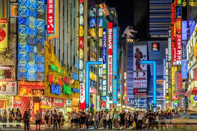 THE NEIGHBOURHOOD Shinjuku district is a bustling urban mecca drenched in neon. It's the place to go at night to party or shop.  TOP THINGS TO DO IN TOKYO