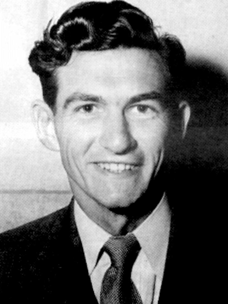 Bob Hawke as young Rhodes Scholar in Perth, 1952. Later became ACTU Leader & Australian Prime Minister.           General / Alone
