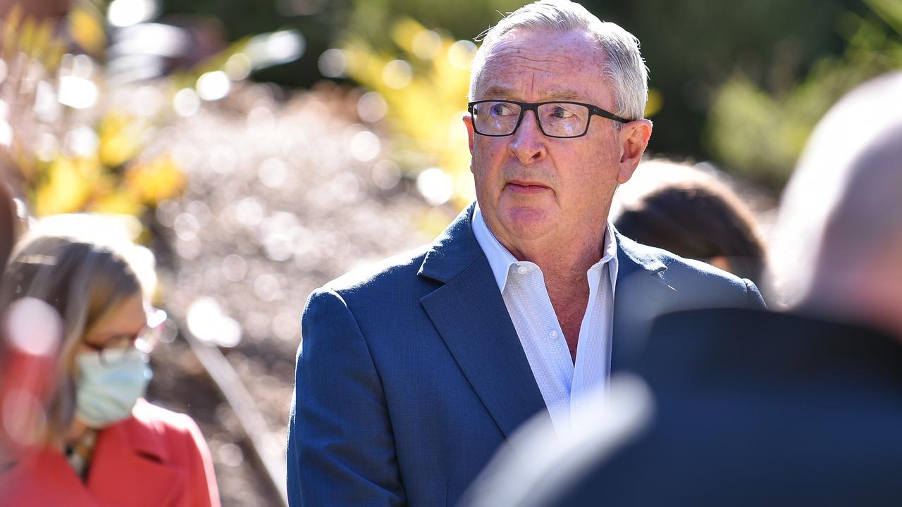 NSW Health Minister Brad Hazzard praised vaccines. Picture: Flavio Brancaleone / NCA NewsWire