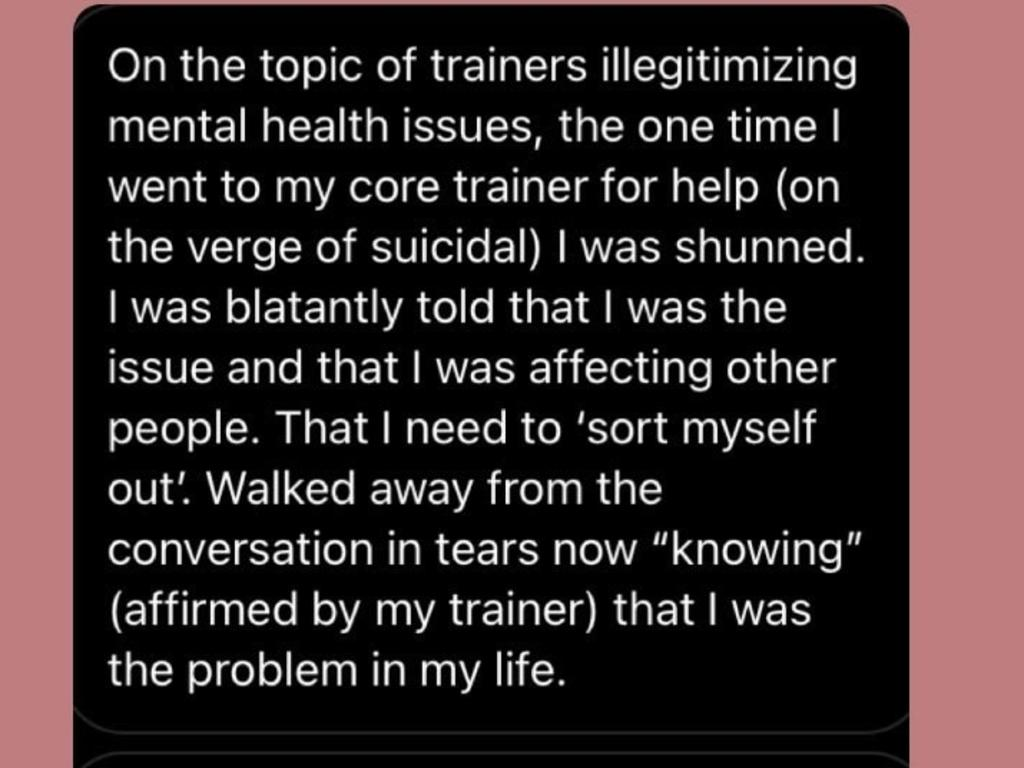 Many have spent years in therapy.