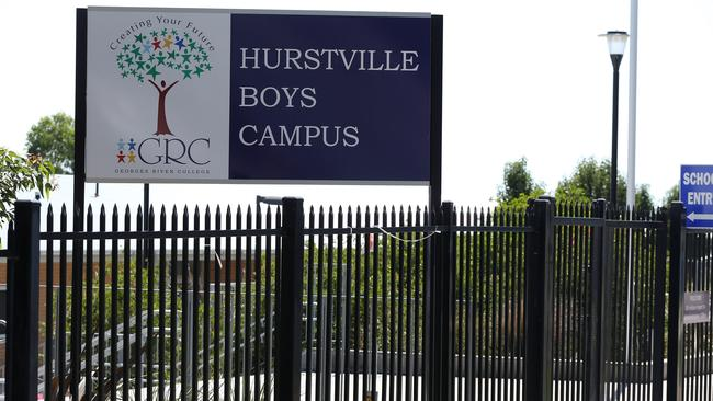 Georges River College has adopted a policy allowing Muslim students to refuse to shake hands with the opposite sex. Picture: Jane Dempster/The Australian