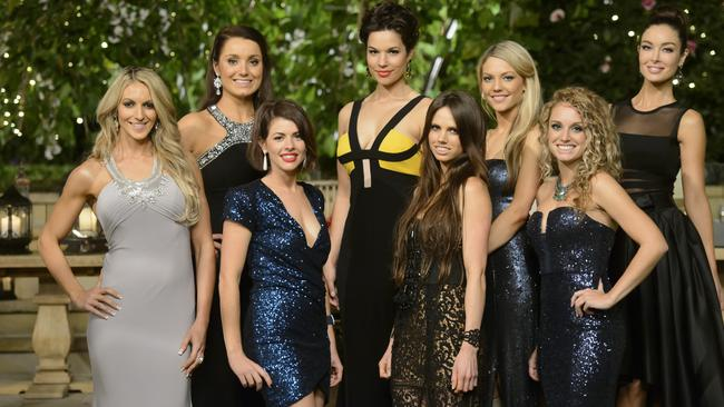 Game on. Some of this season's Bachelorettes.